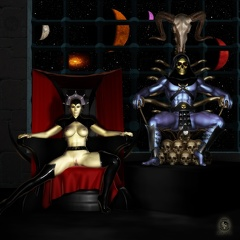 Throne Room -- <i>Who is <b>that?</b></i>